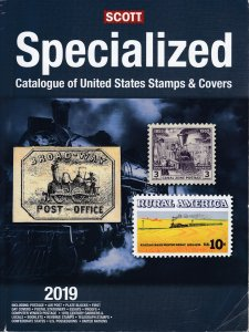 2019 Scott Specialized Catalogue of United States Stamps & Covers