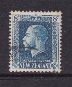 New Zealand a KGV 8d blue good used