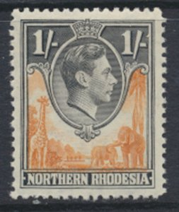 Northern Rhodesia  SG 40  SC# 40 MNH  light bend shows on reverse see detail