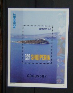 Albania 2004 Europa Holidays Miniature Sheet MNH