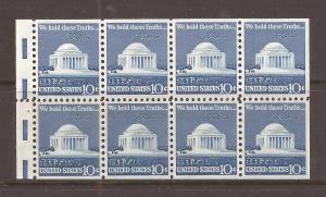 United States scott #1510c Booklet Pane m/nh stock #N4645