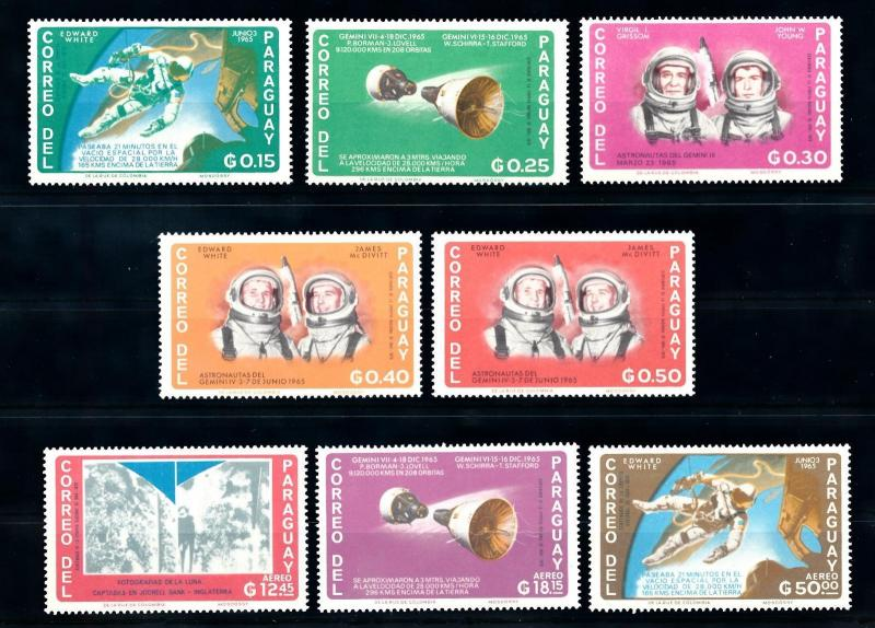 [72435] Paraguay 1966 Space Travel Weltraum  MNH