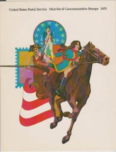 USA -1975 SOUVENIR MINT SET-MINI ALBUM LOT#US263