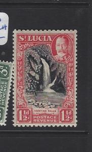 ST LUCIA   (P3006B)  KGV  1 1/2D   SG 115A   MNH