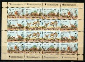 Hungary Scott 3429a Mint NH mini-sheet (WWF)