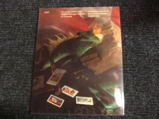 Canada Post Annual souvenir collection 1990