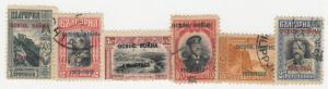 Bulgaria - 1913 - SC 104-11 - Used/LH - Short set - No 108 - 104,107 LH