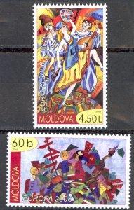Moldova Sc# 523-524 MNH 2006 Europa