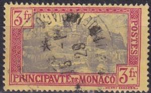 Monaco #90  F-VF Used CV $12.00  Z833
