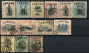 LABUAN Postage British Commonwealth Stamp Collection Used Mint LH