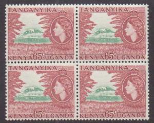 Kenya,Uganda,Tanz.  #111  MNH (4) (1955)  c.v. $14.00