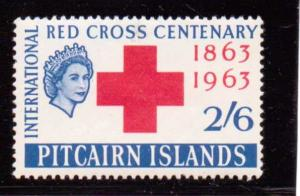 Pitcairn Islands  Scott#  37  MH