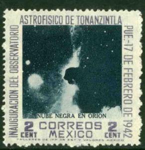 MEXICO 774, 2¢ Tonanzintla Observatory Astrophysics. UNUSED, H OG. F-VF.