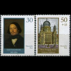 DDR 1990 - Scott# 2845-6 Composer Lewandowski Set of 2 NH