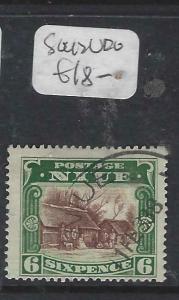 NIUE  (P3004B)  6D  SG 42   VFU
