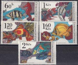 Czechoslovakia #2008-12 MNH CV $3.30  (Z6343)