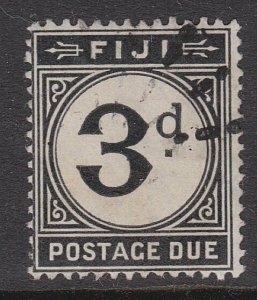 FIJI POSTAGE DUE 1918 3d fine used - ......................................54890