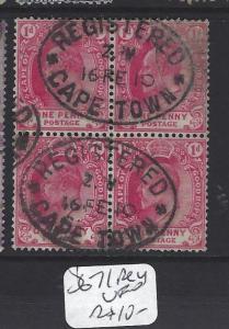 CAPE OF GOOD HOPE  (P0801B)   KE  1D  SG 71  BL OF 4   SON CDS   VFU