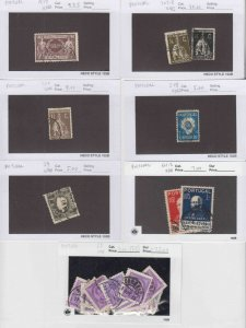 PORTUGAL 7 SALES CARDS $120 SCV COLLECTION LOT READY TO SELL