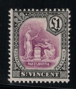 St. Vincent 1913-17 SC 116 H CV $110