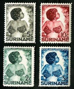 Suriname Stamps # B22-5 VF Used OG