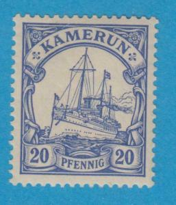 GERMAN COLONIES - CAMEROUN 10 MINT LIGHTLY HINGED OG NO FAULTS VERY FINE