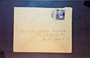 Germany DDR 1950 Cover to Flint Michigan - Z1238