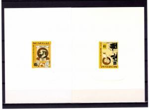 Senegal 1991 Alfred Nobel Deluxe s/s Scott 922-923
