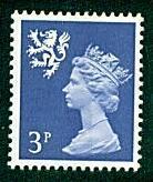 Scotland - #SMH2 Machin Queen Elizabeth II - MNH