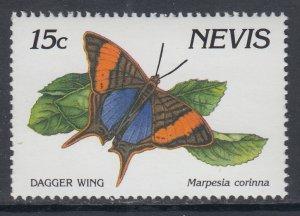 Nevis 642 Butterfly MNH VF