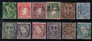 Ireland Scott 106-117 Used (Catalog Value $60.00)