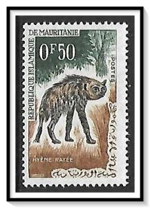 Mauritania #134 Striped Hyena MNH