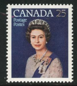 Canada Scott 704, SG 855, QE2 25th anniversary of her reign
