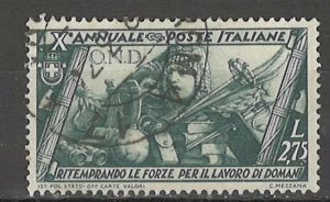 COLLECTION LOT # 4308 ITALY #304 1932 CV+$40