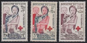 Laos B1-B3 MNH (1963)