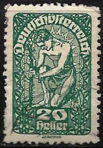 Austria 1919-1920 Scott# 208 Used