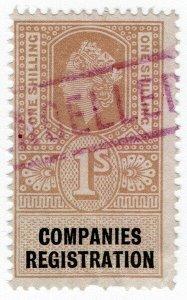 (I.B) Elizabeth II Revenue : Companies Registration 1/-