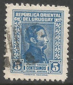 URUGUAY 479 VFU Z4506-4
