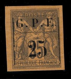 Guadeloupe 1884 SC 2 Mint SCV $60.00