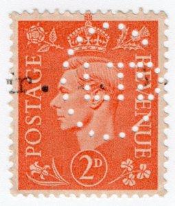 (I.B) George VI Commerical Perfin : C Ltd