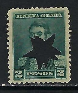 ARGENTINA 104 STAR PUNCH 941D