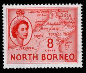 North Borneo Scott 266 MNH** QE2 stamp