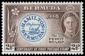 Bermuda - Scott 135 - Mint-Hinged