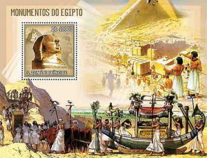 St Thomas & Prince - 2006 - Monuments of Egypt - Stamp S/S - ST6103b