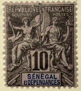 AlexStamps SENEGAL #40 FVF Mint