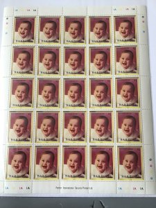 Barbuda Prince William Whole mint never hinged  stamps sheet ref R23578