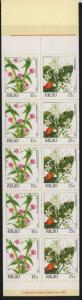 Palau 133b Booklet MNH Flowers