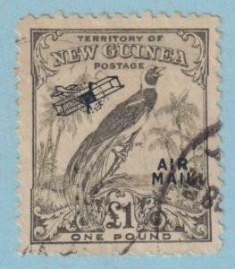 NEW GUINEA C43 AIRMAIL  USED -  NO FAULTS EXTRA FINE !