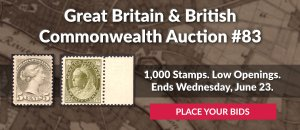 The 83rd Great Britain & Commonwealth Auction