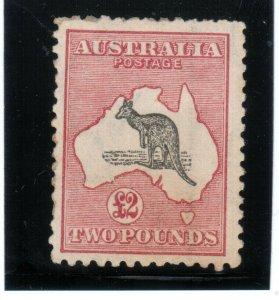 Australia #59 Mint Fine+ Original Gum Hinged